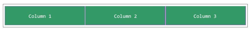 3 columns
