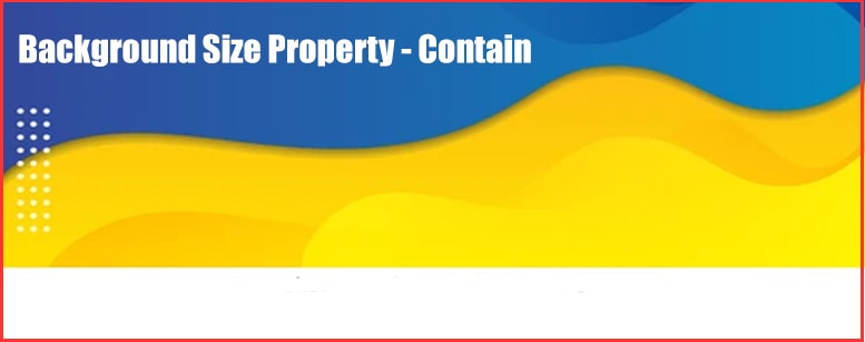 contain css property