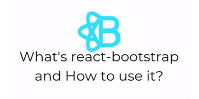 react bootstrap kya hai